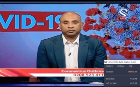 চ্যানেল এস -এর উপস্থাপকের বিরুদ্ধে বর্ণবাদী অভিযোগ